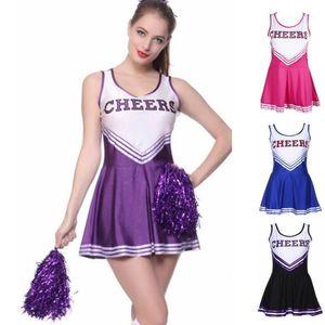 Womengirls Cheerleading Unifics Баскетбол, футбол игры NationalClubschool Team Corlading платье LALA Цветочко