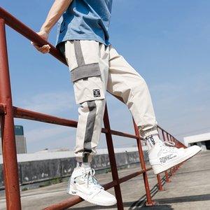 2021 Nuovi uomini Joggers Pantaloni cargo uomo nero Comodo Pant Summer Summer Streetwear Streetwear Pantalone Giapponese Giapponese Tendenza Pantaloni Tb01