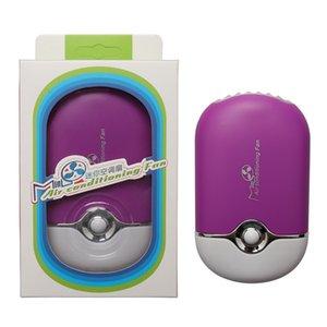 Прививка посадки накладных ресниц воздуходувки мини портативный кондиционер маленький вентилятор USB зарядки безлистных вентиляторов DHL бесплатная доставка