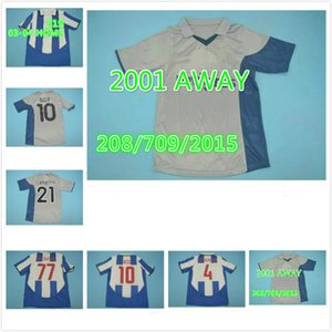 2001 2002 2003 2004 Retro CARVALHO Socce Jersey Vintage 10 DECO 21 CAPUCHO 77 McCARTHY 4 CARVALHO DERLEI MANICHE MACIEL Football Shirt Kit