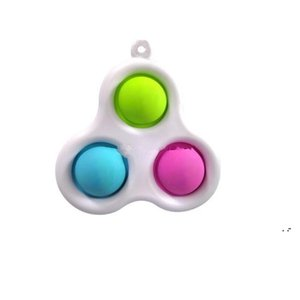 Newest Styles Baby Sensory Simple Dimple Toys Gifts Adult Child Funny Anti-stress Pop It Stress Reliver Push Bubble Fidget Toy BWD5222