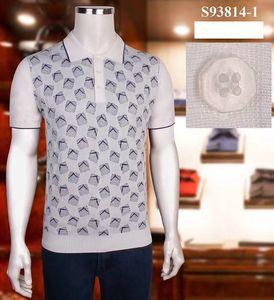 SR Italian Couture Men's T-Shirt 2021 Summer New Round Neck Casual Shirt