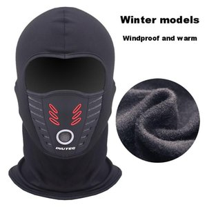 Cold Weather Windproof Thermal Fleece Neck Cap Warm Face Mask Balaclava Winter Waterproof FaceMask