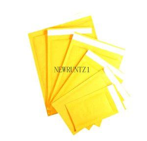 2021t Top Quality Yellow Kraft Bubble Mailers Padded Envelopes Shipping Bag Self Seal Business School Office Supplies