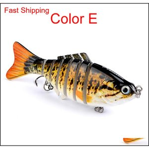 Fishing Lures Wobblers Swimbait Crankbait Hard Bait Isca Artificial Fishing Tackle Lifelike Lure 7 Segme UMw abc2007