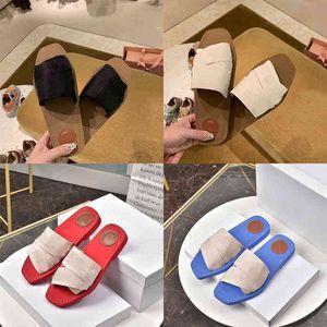 Fahsion Classics Kadın Terlik Bayanlar Floplar Loafer'lar Outlet Bayan Woody Mules Slaytlar Ayakkabı Açık Deri Taban Slide Sandal Designerssbfsx