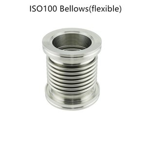 ISO100 Fast Quick Flexible Bellows Pipe Flange Vacuum Bellows SS Expansion Bellow Joint