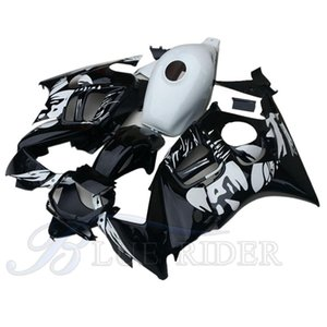 Motorcycle parts for HONDA CBR 600 F3 fairings 1997 1998 CBR600 F3 97 98 black white aftermarket bodyworks fairing kit
