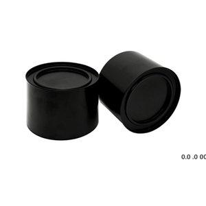 250 ML Alüminyum Çay Teneke Teneke Teneke Kavanoz Comesticals Konteynerler Taşınabilir Mühür Metal Çay Teneke Mum Can EWA4252