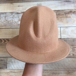 2021 New Wool Felt Tall Mountie Buffalo Happy Pharrell Williams Rapper Westwood Mountain Hat 33wu