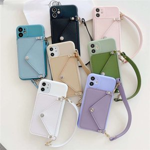 Wallet Phone Case for Galaxy S21 Ultra S21 S20 Plus S10 Chain Portable Fashion Capa CASE For Samsung note20Ultra A71 5G A50 2020