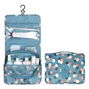 وظيفة السفر شنقا حقيبة مستحضرات التجميل المرأة سستة المكياج حالة المنظم تخزين الرجال ماكياج الحقيبة أدوات الزينة الجمال غسل كيت 210305