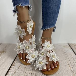 women sandals Flowers Slippers summer flip flops Slippers womans Platform Women Shoes Slide Beach sandals female plus size