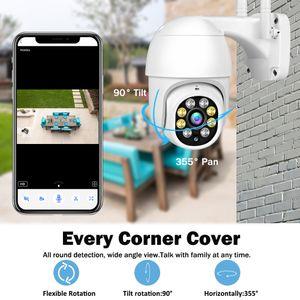 1080 وعاء HD كاميرا IP في الهواء الطلق الأمن المنزلية الذكية CCTV wifi سرعة ptz onvif 2mp اللون للرؤية الليلية