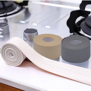 3.2MX38mm Banyo Duş Lavabo Banyo Sızdırmazlık Şerit Bandı Beyaz PVC Kendinden Yapışkanlı Su Geçirmez Duvar Sticker Banyo Mutfak Için