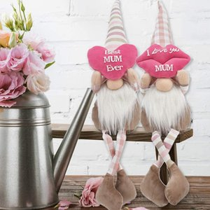 Mothers day long leg lips faceless doll dwarf creative gift cloth art doll ornaments