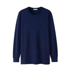Мужские футболки с длинным рукавом полная зимняя осень плюс размер большой XXXXL 5XL 6XL повседневная простой футболки мужской хлопок негабаритная футболка черная