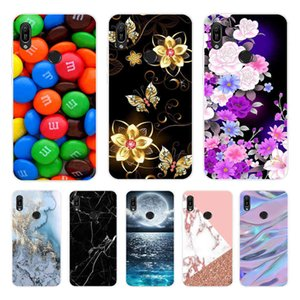 For Y6S Case Soft Silicone Back Cover on Phone JAT-LX1 LX3 L29 L41 Fundas y6