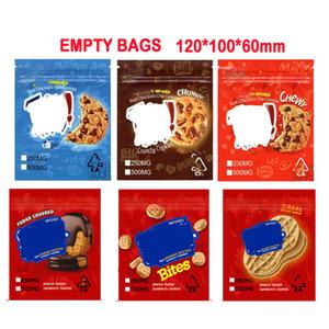 Zkittlez Rice Krispies CEREAL TREATS Jolly Rancher Medicated Wonka Mylar bag Crunchy Cookies CANNA Butter bag