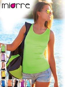 Ненужная синглетная рубашка женщины сексуальная основа слинг женского пола TOUPE Long Vest Miorre мягкий прямоугольник быстрый дрогд