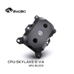 Fans & Coolings Bykski CPU Water Block Use For LGA3647   SKYLAKE Socket POM And Copper Radiator Liquid Cooling System CPU-SKYLAKE-E-V4