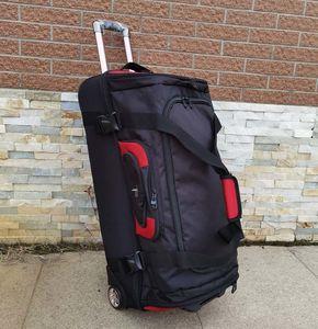 Beasumore Большая вместимость Плечи Travel Bag 27/32 дюйма Студент Роллинг Багаж Рюкзак Мужчин Бизнес Тележка Чемоданы Колесо 210304