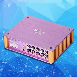 Hot ! AT-1 DSP Car Amplifier 4 CH DSD Audio Output For Car Audio Modified Subwoofer