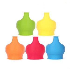 Couvercle Silicone Sippy Convient aux adultes et aux enfants Coupe-Cuve Couvercle Gumbler Lunettes d'œuf Couvercle Couvercle Accueil Coupe Décoration YHM67-