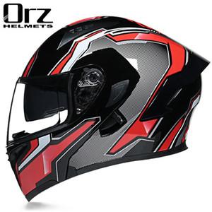 Motorcycle Helmets Flip Up Electric Open & Half Face Helmet Scooter Motor Crash For Moto Bike Sunshade Sun Protection
