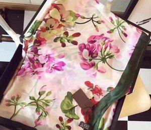 Silk Scarf High Quality Foulard Bandana Long Lrage designs Shawls Wrpas summer Neck Scarves Lady gifts
