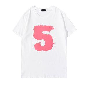 Tasarımcı Erkek Tshirt Yaz Kısa Kollu Üst Avrupa Amerikan Moda Baskı T-shirt Erkekler Boyutu S-XXL 21070901ZY