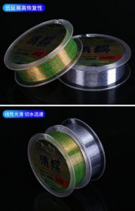 Hunting Crocodile Spot Line Invisible Super Soft Camouflage Color Changing Fishing 100m