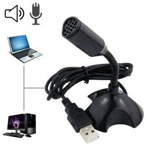 Per il computer portatile del computer portatile del computer del computer microfono con i cavi USB del titolare Mini cablato USB Studio Microfono Voice Chat del gioco del gioco del gioco