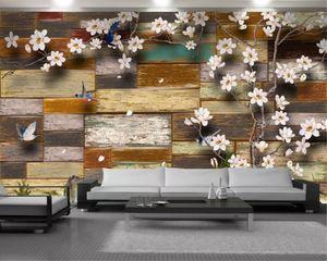 Wall Wallpaper Exquisite Floral Wall 3d Modern Wallpaper Elegant Interior Decorative Silk 3d Mural Wallpaper