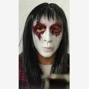 Другое событие Party Party Actories 2021 Аниме аниме Хэллоуин Женский Ghost Masks Черный Мужской Латекс Housgear Animation Секрета с привидениями