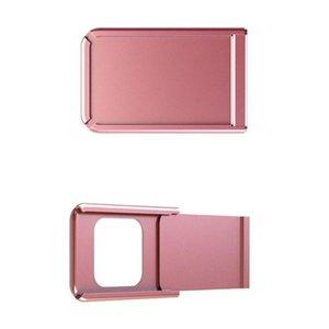 Lens Caps Metal WebCam Shutter Slider Camera Cover Privacy Sticker For Laptop IPad PC Tablet HSJ-19