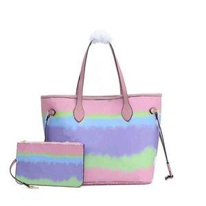 الأزياء باستيل حقيبة مصمم التعادل صبغ حقيبة مقبض مع حزام الكتف M40995 حقيبة يد فاخرة في الباستيل الصيف أكياس escale للبيع