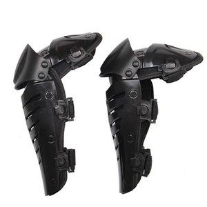 Para Herobiker Motorcycle Anti-Fall Protective Knee Pads Nuevos 2 unids Protective Kneepad Engranajes Motocicleta Rodilla Pista Protector