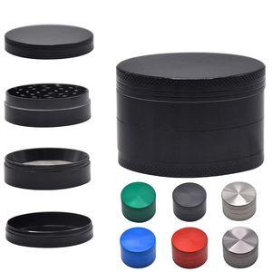 40 * 35mm 4 Capas Tabaco Grinder Fumar Herb Grinder Miller Mini Mini Aleación de Zinc Molinillo de humo
