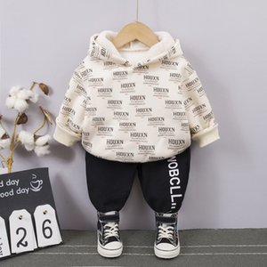 Baby Boy Clothes Letter Cotton Hoodie Sweatshirt+Pant Kid Sport Suit for Children Clothing Tracksuit Fashion Kids Clothing Sets