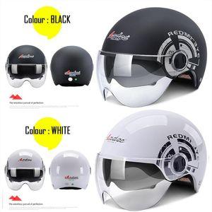 ANDES Electric Motorbike Helmet Dual & Single Lens Visors Moto Helmet Bicycle Men Women Motorcycle Summer Scooter Moto Casco