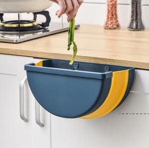 Tipo de lixo Ponto de suspensão Dobro Hanging Storage Cubeteira Suporte Veículo Multifuncional Multifuncional Lata de lixo Acessórios para banheiro EWB5261