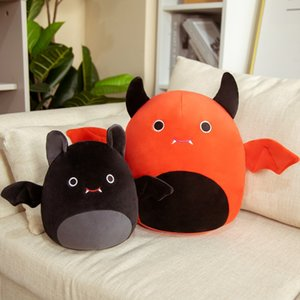 20CM--30CM Halloween Cute bat Animal Pillow Plush Toys Holiday Christmas gifts toy Party Prom Props surprise wholesale