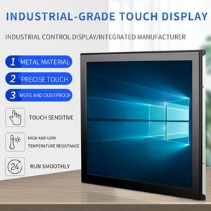 Monitors 10.1 17 15 13.3inch Industrial-grade Embedded wall-mounted Capacitive Touch Display With VGA Interface
