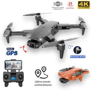 L90PRO GPS RC Drone 4K Dual HD Camera Professional Aerial Photography Brushless Motor Foldable Quadcopter Distance1200M
