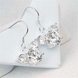 New fashion classic cartoon mini mouse zircon charm woman earrings earrings for women Ear Studs Pendientes Cartoon Movie1