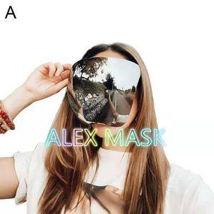 2021 الوجه درع مصمم أقنعة نظارات واقية نظارات السلامة في الهواء الطلق قناع غنجلز نظارات الزجاج مع dhl مجانا