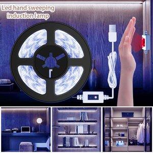 Sensor strip Light LED Strip Light Motion Battery Led Flexiable adhesive lamp tape For Closet Stairs Kitchen Cabinet