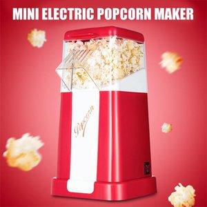 Popcorn Maker 220V 110V Mini Household Oil-Free Machine Corn Home DIY Electric Makers Kitchen Appliance 1200W