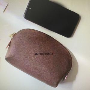 M47515 N60024 Mini bolsa cosmética para mujeres bolsas de maquillaje Moda Pequeño maquillaje bolsa portátiles de bolsas de almacenamiento portátiles casos de viaje Cosmetic Wallet monedero